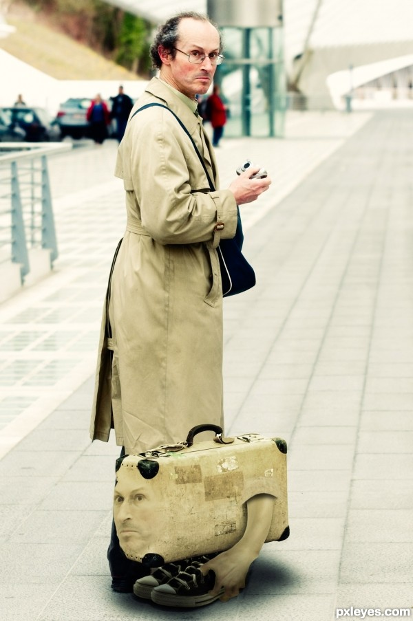Personal suitcase