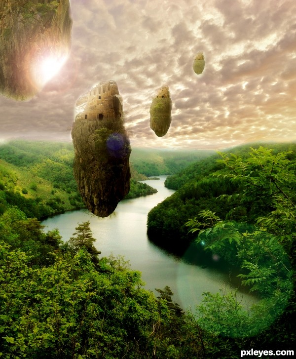 petra floating islands