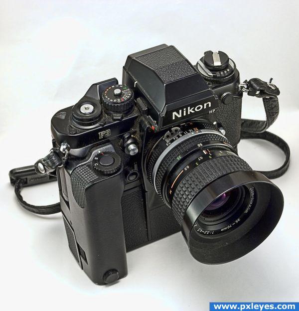 Nikon F3 - created by LoddNikon F3