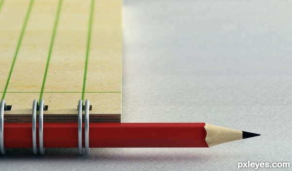 Red Pencil Mimic