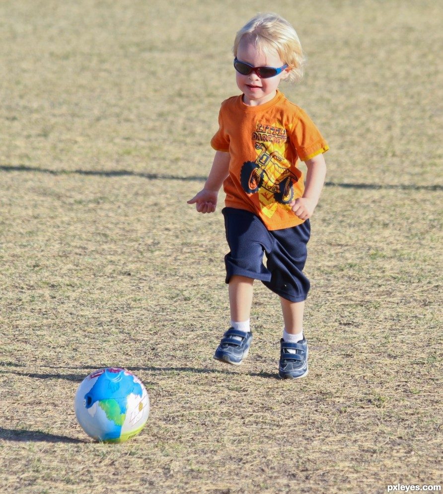 Soccer Kid photography picture