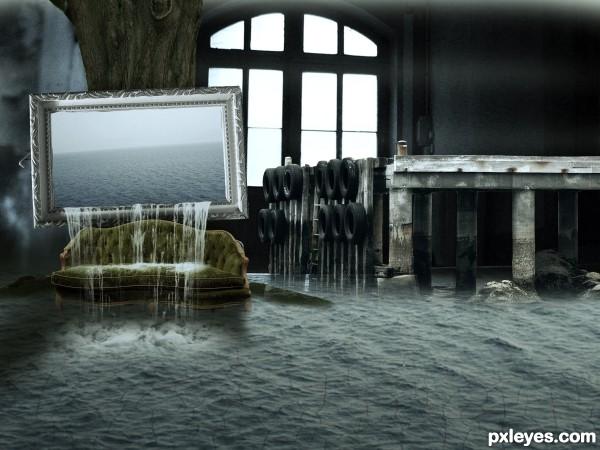 wet hall