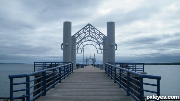 Makinac Pier