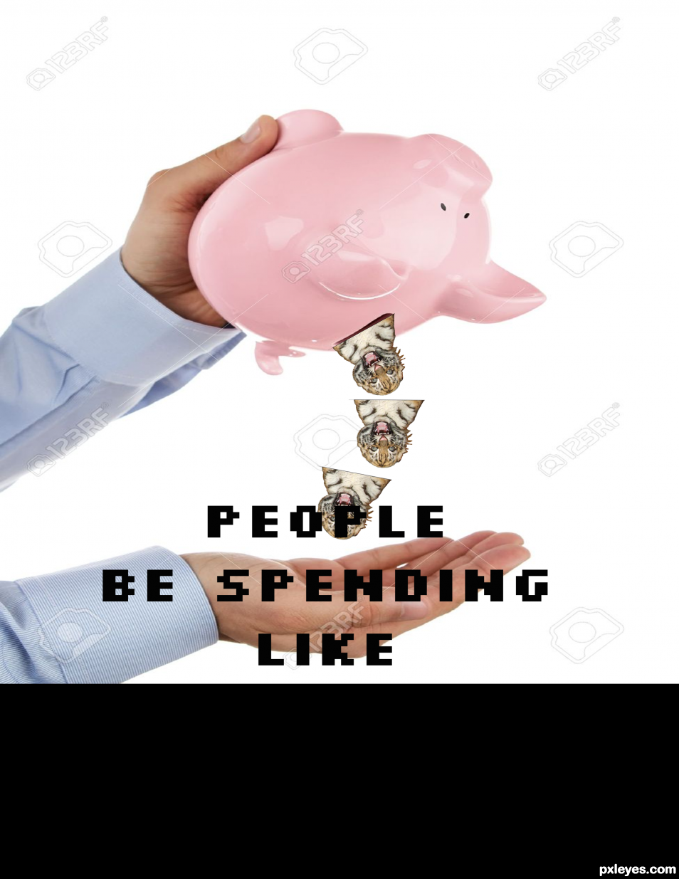 people be spending like