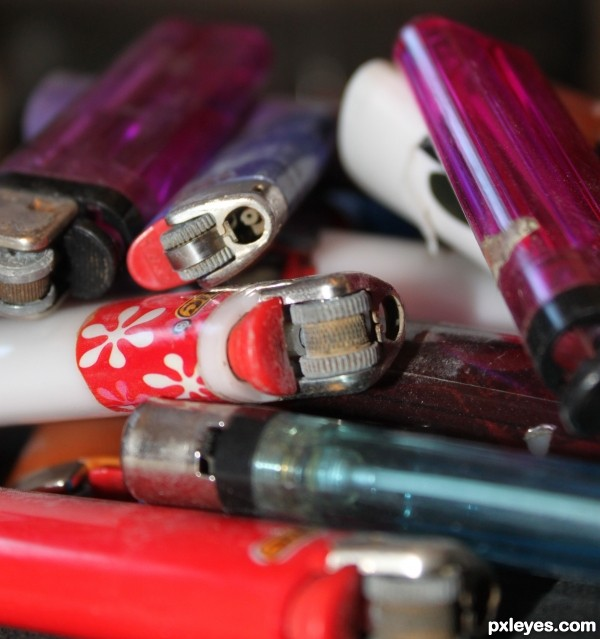 pile O Lighters
