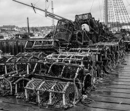 Pile of Fishing Baskets