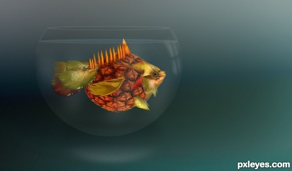 Exotic Pineapple Fish