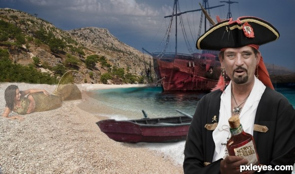 Aye, its the Scurvy Rum!