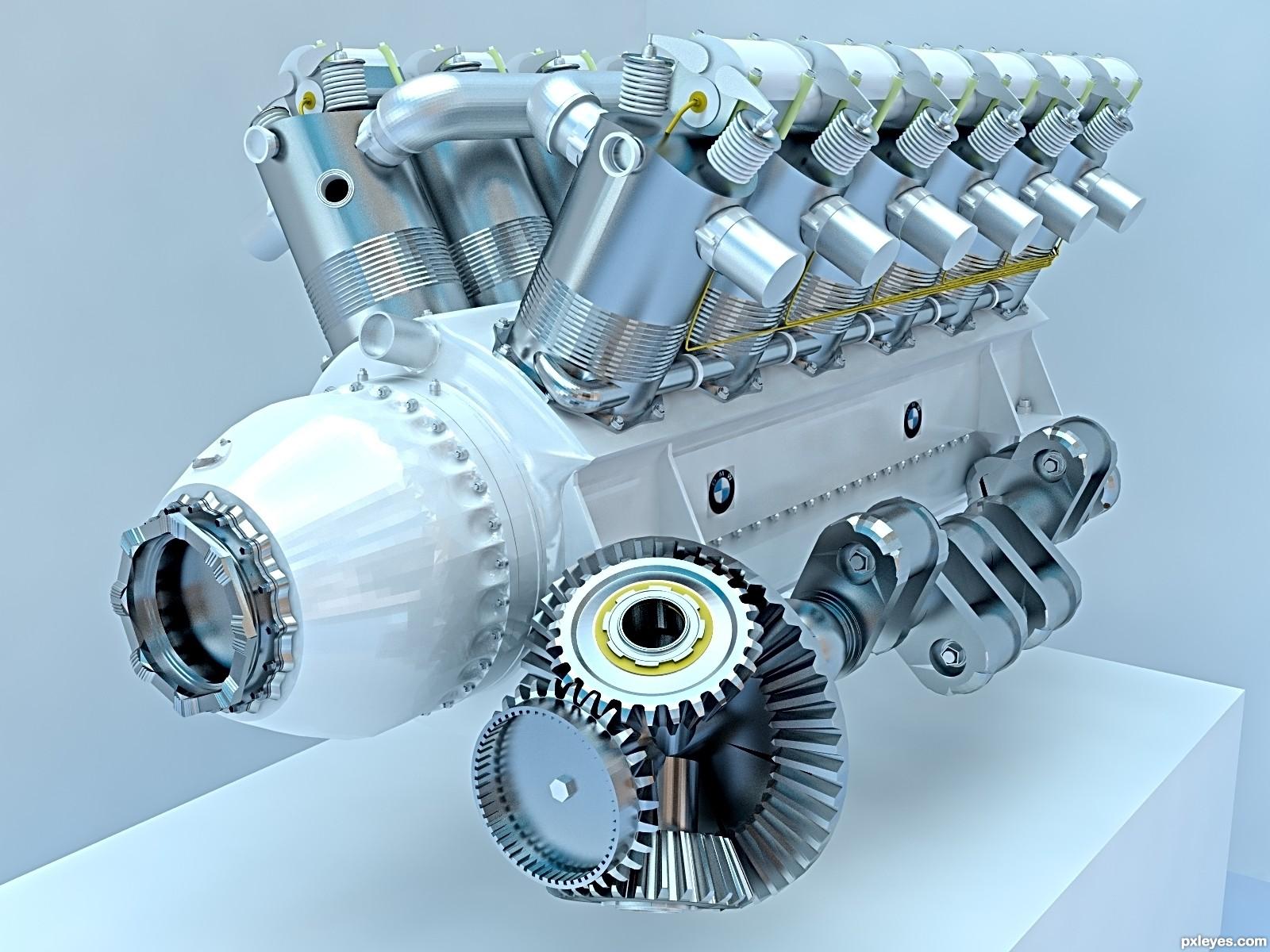 Aircraft Engine Wallpaper Bmw Aircraft Engine