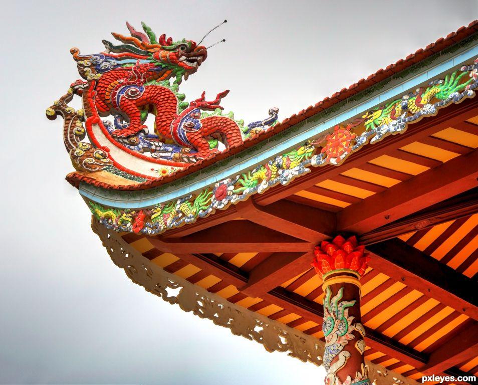 Pagoda Roof Top