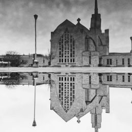 Cathedral Puddle Reflection (Entry number 101484) Picture