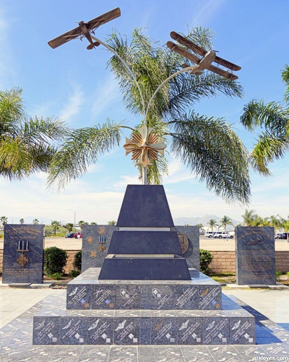 WWI Pilot Memorial