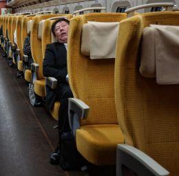 Bullet Train Passenger