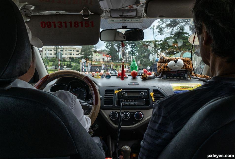 Inside the Automobile