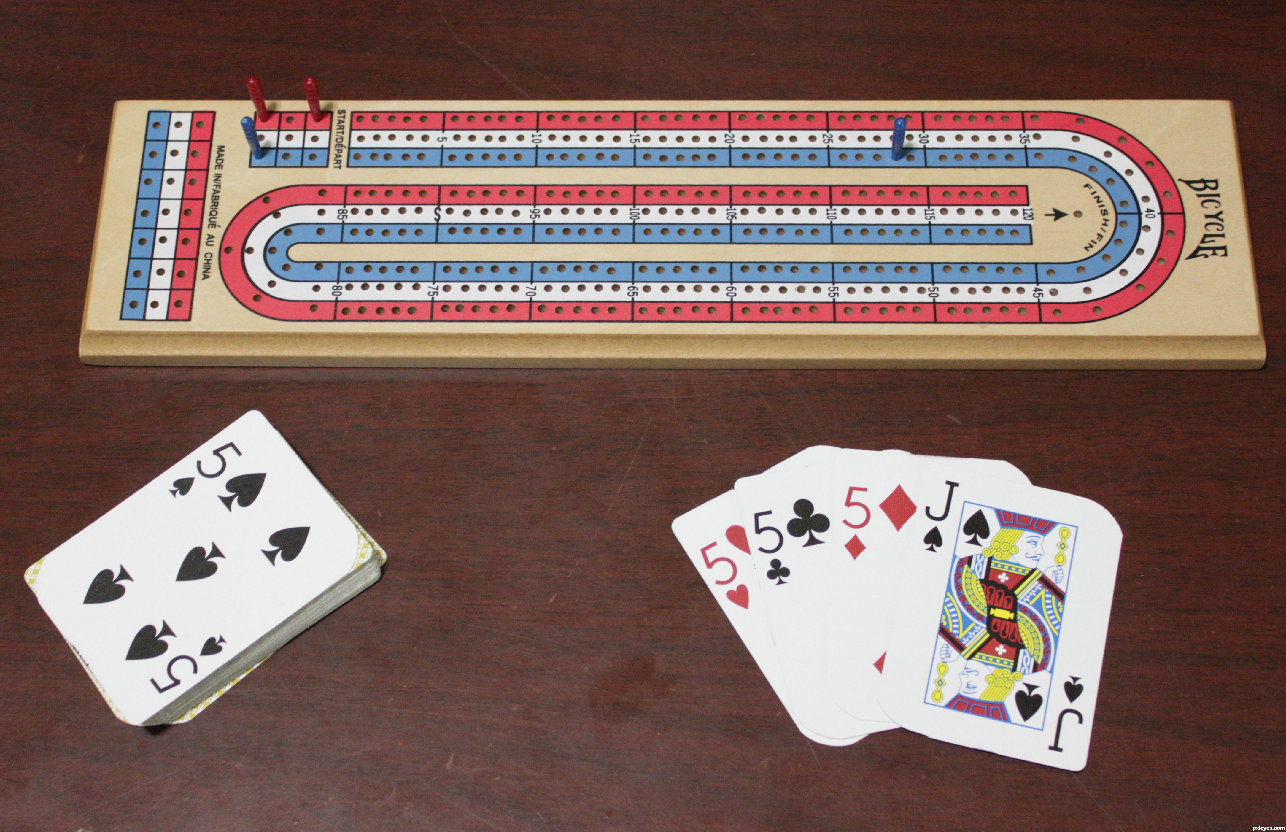 cribbage rules 4 of a kind