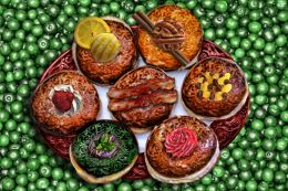 Specialty Donuts on Green Currants
