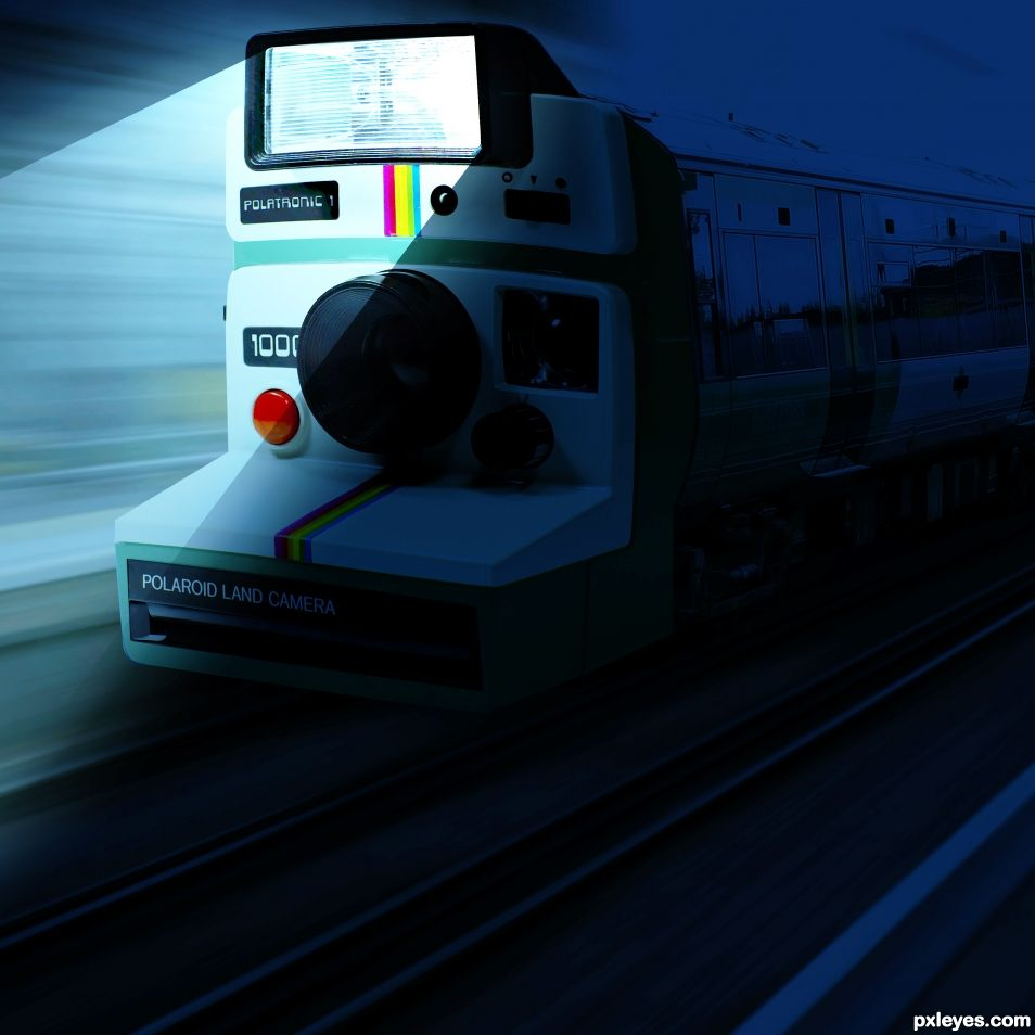 Train has eye