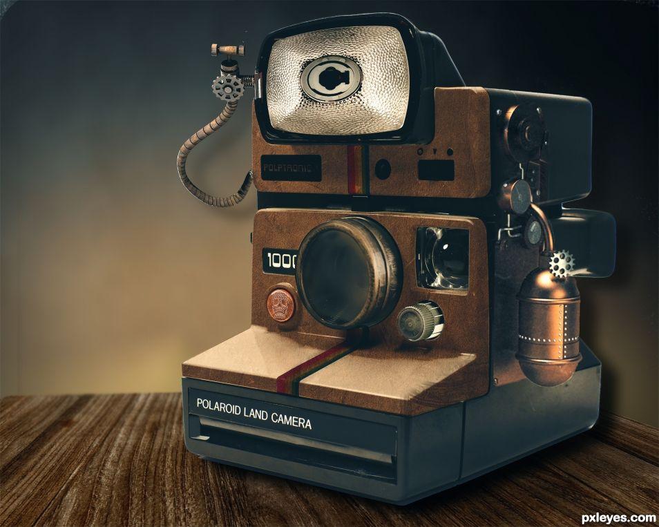 Polaroid Steam Engines