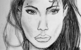 angelina portrait