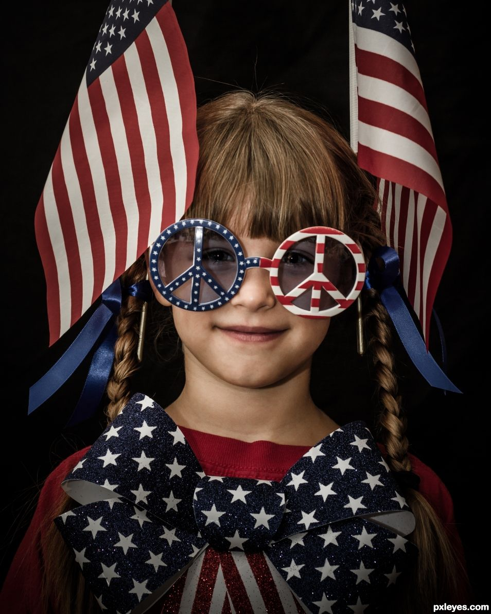 Patriotic Lass