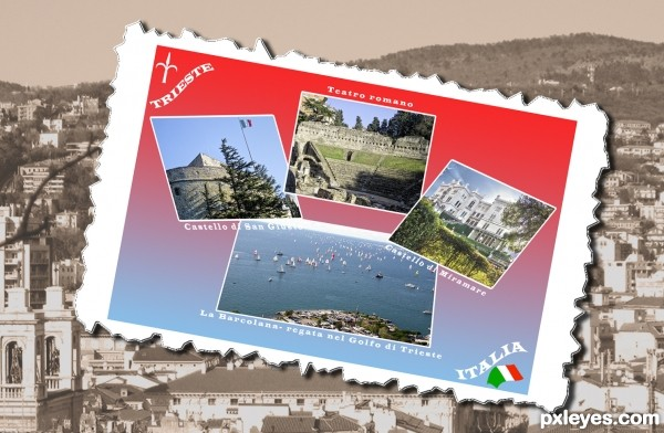 postcard from Trieste, Italy