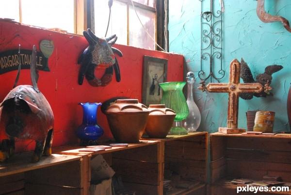 Illuminated Pottery