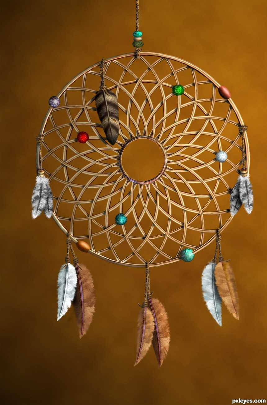 Dream Catcher photoshop picture)