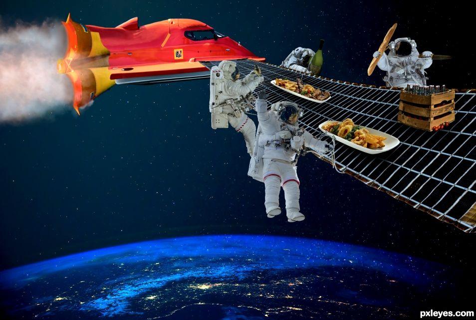 Space picnic