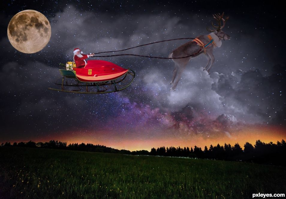 Santa is on his way!!!