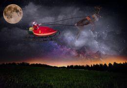 Santa is on his way!!!
