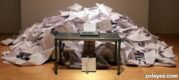 Busy printer