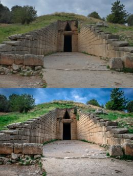 Treasury of Atreus - Tomb of Agamemnon