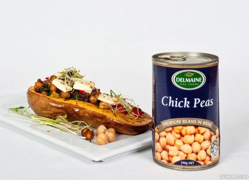 Chickpeas, the healthy alternative