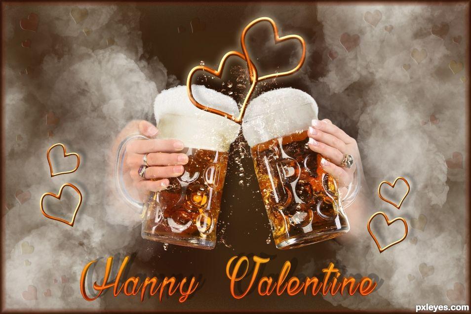 Creation of Happy Valentine: Final Result