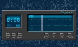 Digital 8 Radio Clock