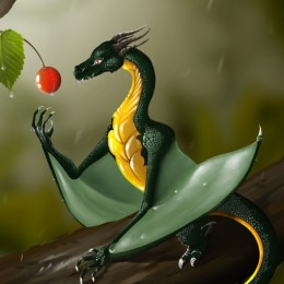 The little Green Dragon
