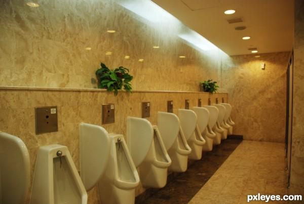 exhibition hall toilet