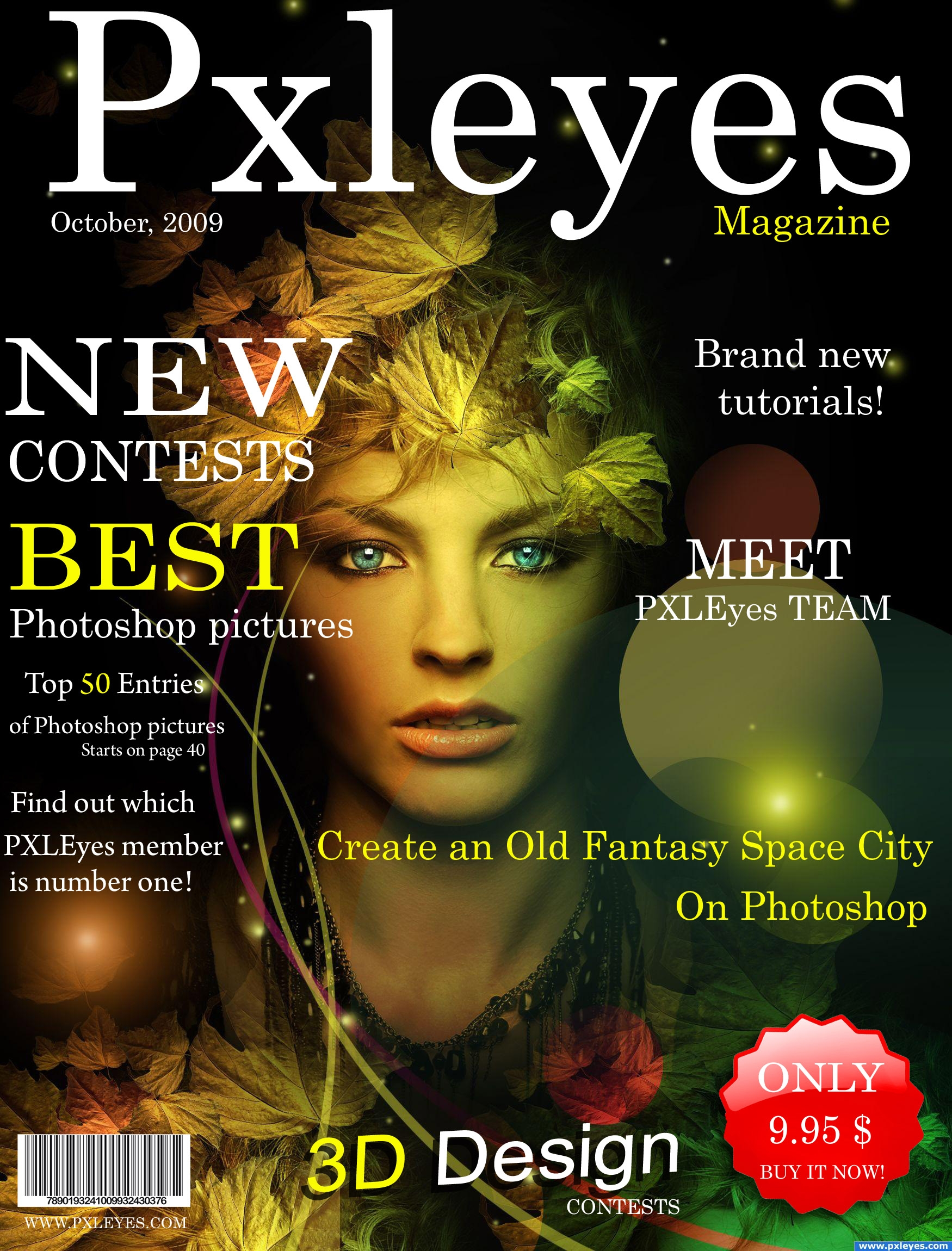 New Cover Magazine Picture, By Sosipatra For: Pxleyes