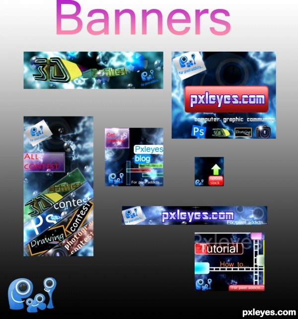 PXL BANNERS