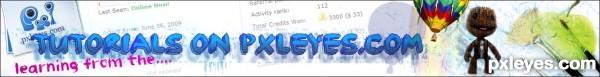 Tutorial PXLEYES banner