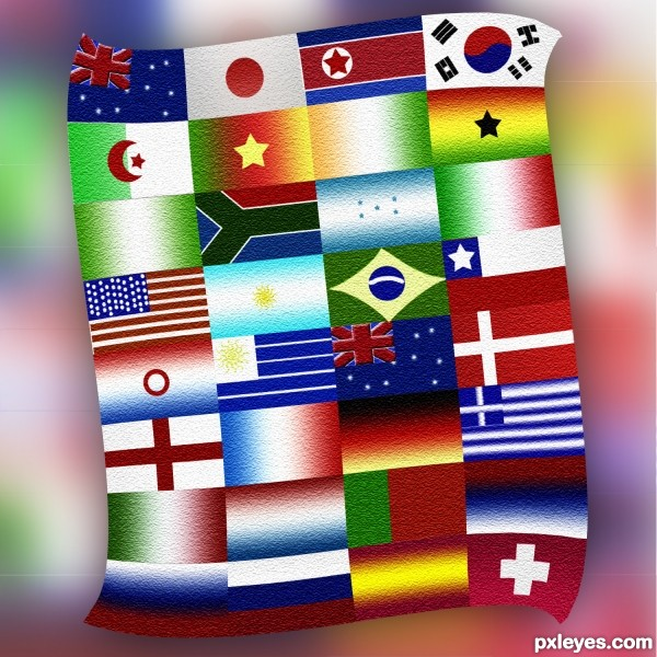 World Cup quilt