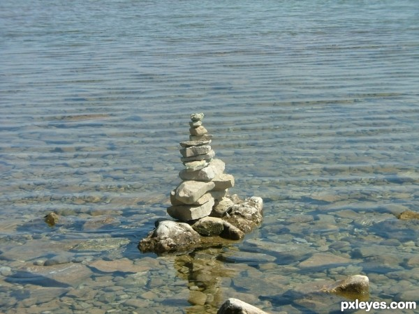Ripples and some Rocks