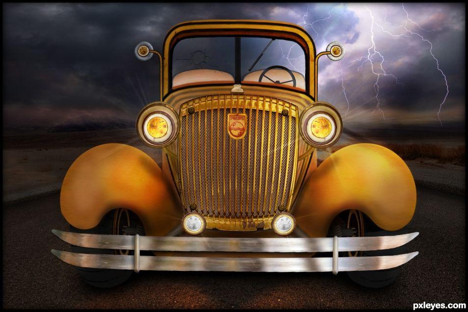 Rare Vintage Car