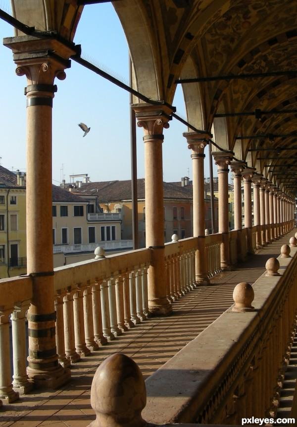 Palazzo della Ragione in Padua