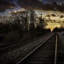 railroad track photoshop contest