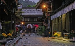 Evening in the Rain
