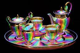 Colourful Teaset.