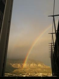 Table Mountain Rainbow