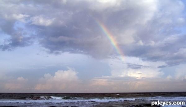 Peek-A-Boo, I see a Rainbow