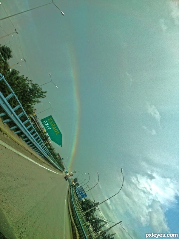 rainbow exit